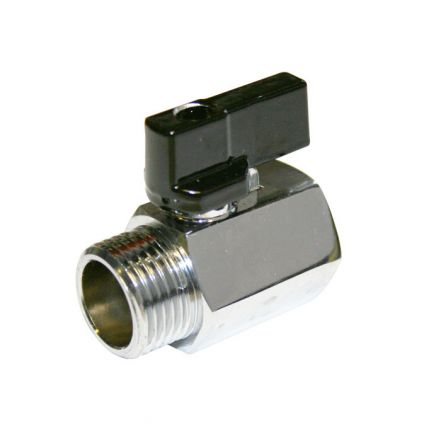 Brass Mini Ball Valve Male / Female