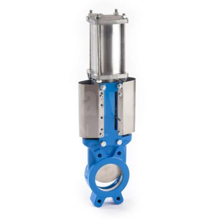 Zubi Cast Iron Actuated Knife Gate Valve