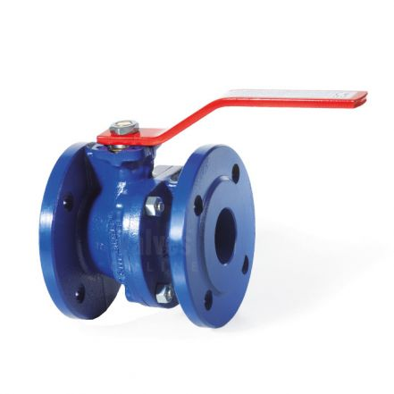 Cast Iron Ball Valve Flanged Direct Mount PN6