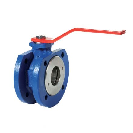 Cast Iron Ball Valve Wafer Pattern PN16