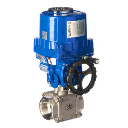 Series 88 Electric V Sector Ball Control Valve