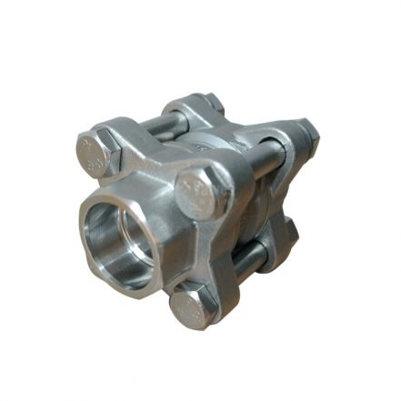 Stainless Steel Disc Check Valve 3 Piece