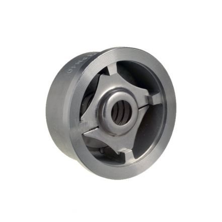 Stainless Steel Spring Disc Check Valve Wafer Pattern