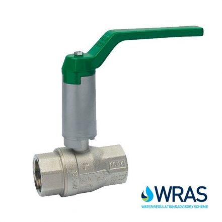 Brass Ball Valve WRAS Approved with Neck Extension