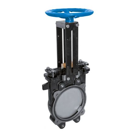Cast Iron Knife Gate Valve PN10 Handwheel Operated