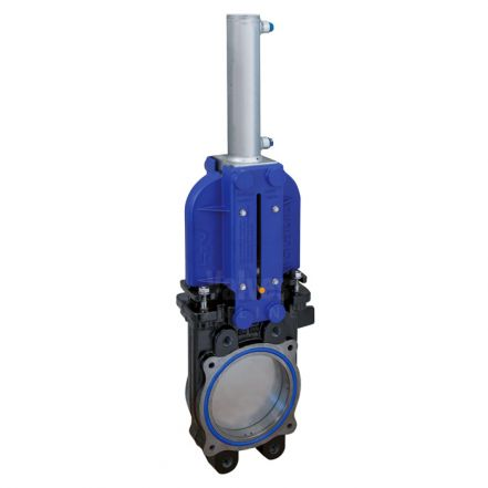 Cast Iron Knife Gate Valve PN10 Hydraulically Operated