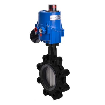 Electric Actuated Butterfly Valve Lugged PN16