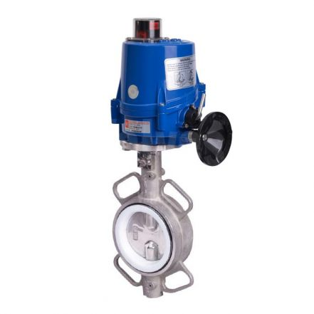 Electric Actuated Stainless Steel Butterfly Valve