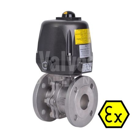 ATEX 90D Electric Actuated PN16 Ball Valve