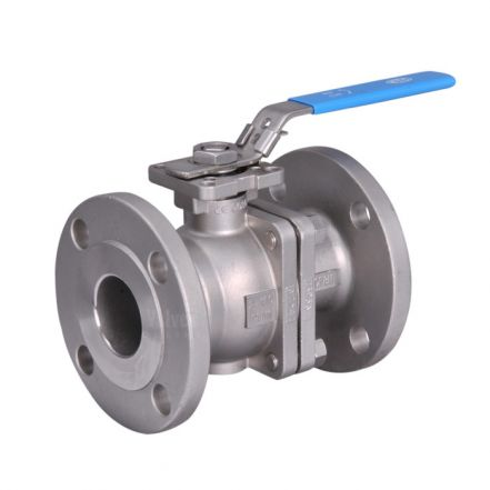 Direct Mount PN16 Flanged Stainless Steel Ball Valve