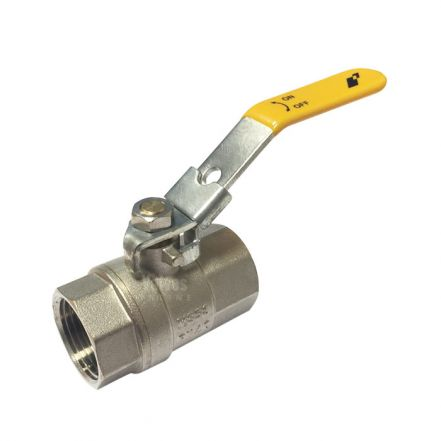 Brass Ball Valve BSPT with Locking Lever