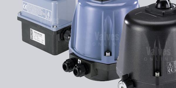 Burkert Electric Rotary Actuators