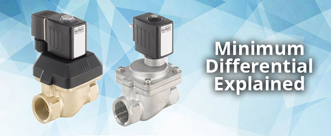 Solenoid Valves - Minimum Differential Explained