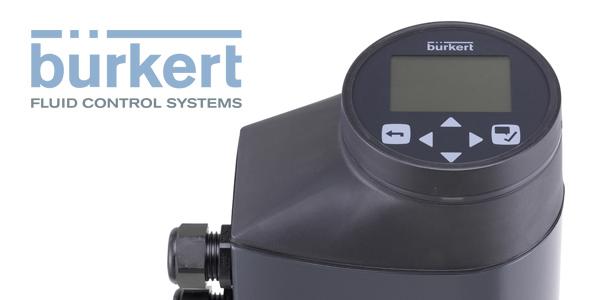 Electromotive Process Valves from Burkert