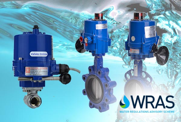 New Electric Actuated WRAS Ball & Butterfly Valves