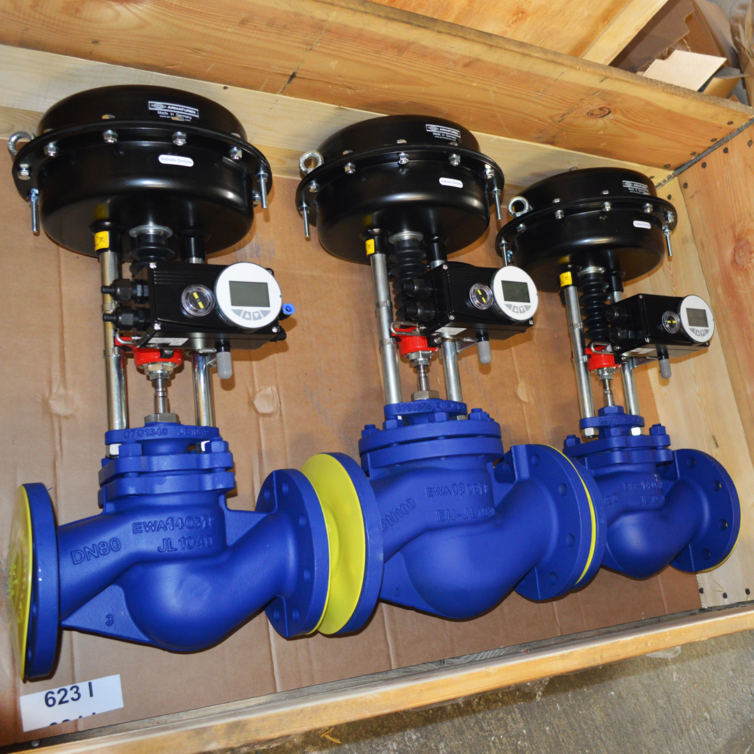3 off ARI-STEVI-Smart Control Valves