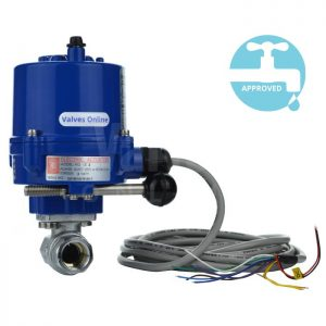 Electric Operated WRAS Ball Valve