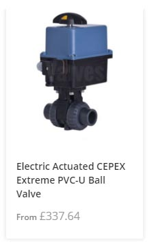 PVC-U Electric Actuated Ball Valve