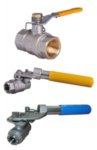 Fail Safe Close Manual Ball Valves